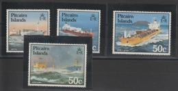 Pitcairn 1985 Bateaux 256-259 4 Val ** MNH - Briefmarken