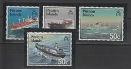 Pitcairn 1987 Bateaux 279-282 4 Val ** MNH - Briefmarken