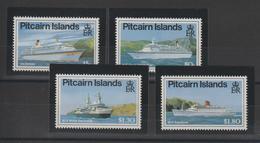 Pitcairn 1991 Bateaux 366-369 4 Val ** MNH - Pitcairninsel