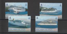 Pitcairn 2013 Bateaux 797-800 4 Val ** MNH - Briefmarken