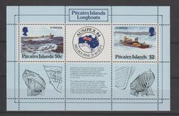 Pitcairn 1984 Bateaux BF 7 ** MNH - Briefmarken