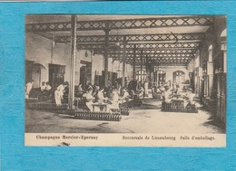 Champagne Mercier-Épernay. - Succursale De Luxembourg - Salle D'Emballage. - Epernay