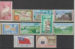 Samoa 1962 Sujets Divers 164-173 10 Val ** MNH - Samoa
