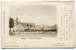 CPA - Carte Postale Signée Par HENRI BAELS - Espagne - Málaga - Cortina Del Muelle - 1905 ( HB10904) - Málaga