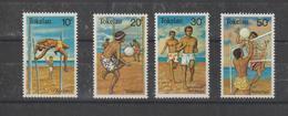 Tokelau 1981 Sports 77-80 4 Val ** MNH - Tokelau