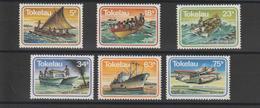 Tokelau 1983 Bateaux Et Avions 91-96 6 Val ** MNH - Tokelau