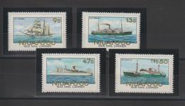 Tonga Niuafo'ou 1985 Bateaux 54-57 4 Val ** MNH - Tonga (1970-...)
