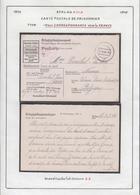 Belgique  Stalag XIII A- Carte Postale De Prisonnier -Correspondance Vers La France.................... (VG) DC5328 - WW II