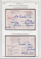 Belgique  Stalag XIII A- Double Carte De Correspondance -Carte Pour Le Prisonnier .................... (VG) DC5329 - WW II
