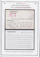 Belgique  Stalag XVII B- Carte Postale Du Prisonnier. Type I- Formulaire Unilingue Allemand............... (VG) DC5332 - WW II