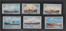Tuvalu 1984 Bateaux 217-22 6 Val ** MNH - Tuvalu