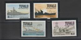 Tuvalu 1991 Bateaux 571-74 4 Val ** MNH - Tuvalu