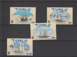 Tuvalu 1998 Bateaux 744-47 4 Val ** MNH - Tuvalu