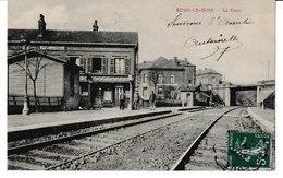 Nord SOUS LE BOIS La Gare (vue Intérieure) - Autres Communes