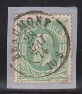 30 DC Beaumont 1874  Sur Fragment - 1869-1883 Léopold II