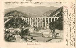 (C).Piteccio(PT).Ponte Della Ferrovia.F.to Piccolo.Viaggiata (c17) - Pistoia