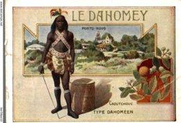 CHROMO CHOCOLAT D'ANNECY  LE DAHOMEY  PORTO-NOVO - Chocolate