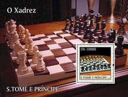 SAO TOME - 2003 - Chess - Perf Souv Sheet - M N H - Sao Tome En Principe