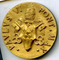 MED 191 - MEDAGLIA - PAULUS VI PONT. MAX - DOMENSIONI Mm. 35x35 - Religione & Esoterismo