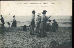 Heyst Sur Mer Pendant Les Vacances à La Mer 21 1908 - Knokke