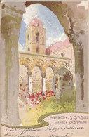 (C).Palermo.S.Giovanni Degli Eremiti.Disegnata Da Lentini.F.to Piccolo.Viaggiata (c17) - Palermo