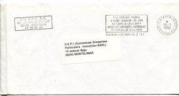 YVELINES De SAINT GERMAIN EN LAYE  Flamme En P.P. Sur Env.   . De 1992 - Postmark Collection (Covers)