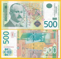 Serbia 500 Dinara P-59b 2012 UNC Banknote - Serbia