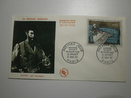 1962 FDC - Madame Manet Au Canapé Bleu - Manet (Paris) N°1364 - FDC