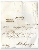 DA SAN GINESIO A MONTEGIORGIO - 13.2.1817. - Italia