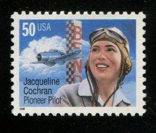 900742102 1996 SCOTT 3066 POSTFRIS MINT NEVER HINGED EINWANDFREI (XX)  JACQUELINE COCHRAN PILOT - Etats-Unis
