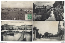 FRANCE - Joli Lot De 116 CPA - Toutes Régions - Pas De Paris, Nice, Lourdes... - Cartoline