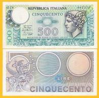 Italy500 Lire P-94 1979 Biglietto Di Stato XF - Italie