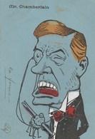Caricature.  MR Chamberlain.  Scan - Humor