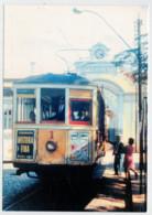 BRASIL     TRAIN- ZUG- TREIN- TRENI- GARE- BAHNHOF- STATION- STAZIONI  2 SCAN (SCRITTA) - Treni