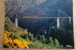 VILLEFRANCHE DE CONFLENT à LA TOUR DE CAROL - Pont Gisclard - Ligne S.N.C.F - Trains ( 66 Pyrénées Orientales ) - France