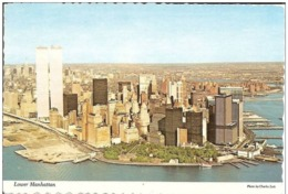 Etats Unis NEW YORK  Lower  Manhattan - World Trade Center