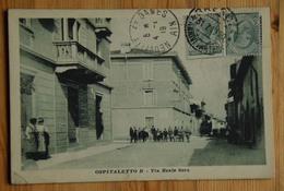 Ospitaletto B - Via Reale Sera - Animée : Petite Animation / Animata - (n°16722) - Brescia