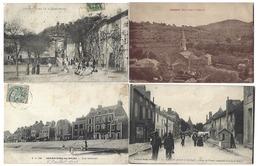 FRANCE - Lot De 58 CPA - Uniquement Des VILLAGES - Cartoline