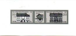 "(DDR-Bl) DDR Schwarzdruck Mi. W Zd 722 S  ""Tag Der Philatelisten""  (*) - Unclassified"