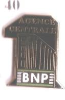 S40 Pin's BANQUE BNP CENTRALE Qualité Egf Achat Immédiat - Banks