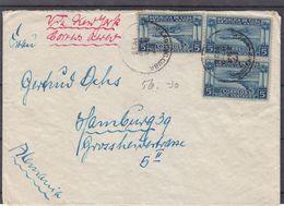 Cuba - Lettre De 1938 - Exp Vers Hamburg Via New York - Avions - - Cuba