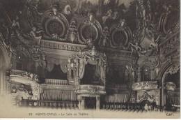 MONACO ( Europe ) - MONTE CARLO - La Salle Du Theatre - Opernhaus & Theater