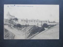 Deutsches Reich Feldpost 1. WK 1916 AK Namur Hotel De La Citadelle Et Stade Des Jeux. Grüner FP Briefstempel Infant. Reg - Brieven En Documenten