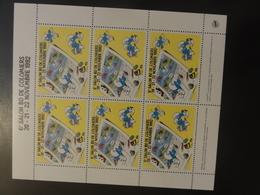 Bloc Stamp Salon Bd 4 (schtroumpf) - Fictifs