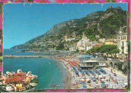 Amalfi (Salerno) Spiaggia, The Beach, La Plage, Der Strand - Salerno
