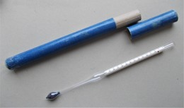 - Ancien Thermomètre - Pèse Acides Concentrés - - Sciences & Technique