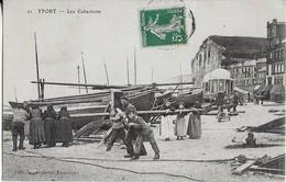 YPORT (76) ; Les Cabestans Sur Les Quais- Tout Le Monde Participe (1908) - Yport