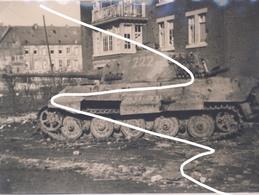 Stavelot. Bataille Des Ardennes. Le Fameux Königstiger. Grande Repro - 1939-45
