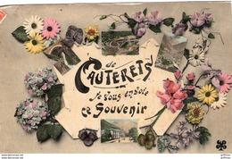CAUTERETS JE VOUS ENVOIE CE SOUVENIR 1908 TBE - Cauterets