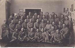 ALLEMAGNE HÔCHST 92 EME RI TROUPE D OCCUPATION CARTE PHOTO - Oorlog 1914-18